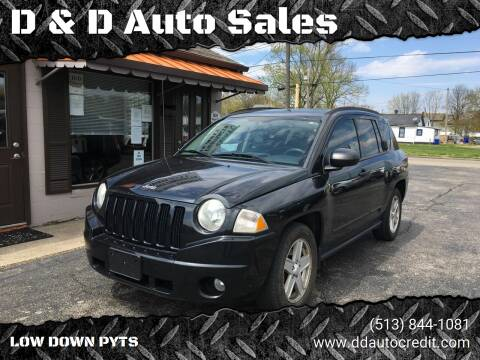 2008 Jeep Compass for sale at D & D Auto Sales in Hamilton OH