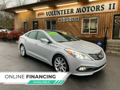 2015 Hyundai Azera for sale at Kerwin's Volunteer Motors in Bristol TN