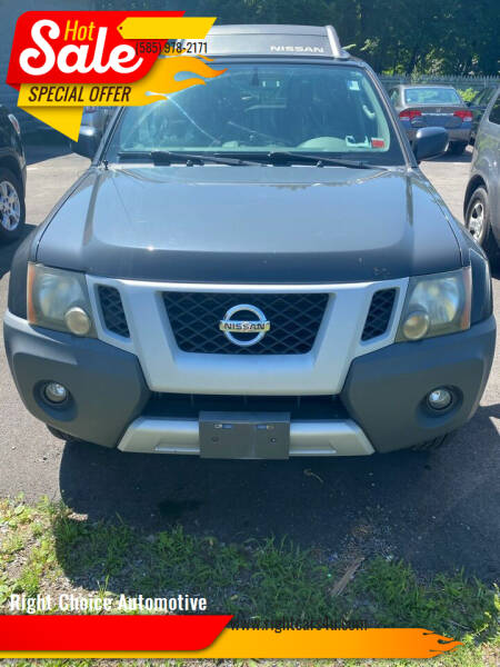 2010 Nissan Xterra for sale at Right Choice Automotive in Rochester NY