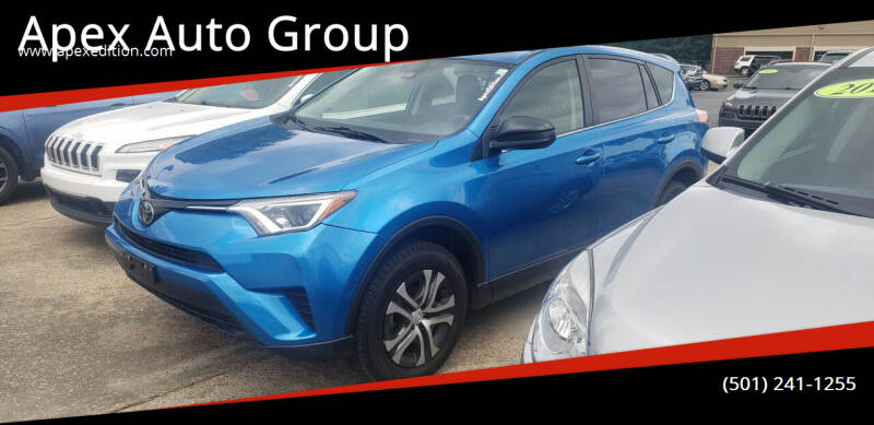 2018 Toyota RAV4 for sale at Apex Auto Group in Cabot AR