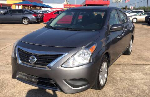 2017 Nissan Versa for sale at Newsed Auto in Houston TX