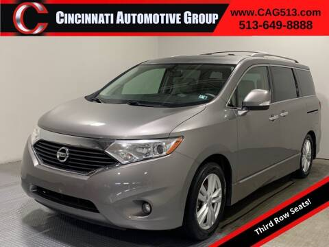2012 Nissan Quest for sale at Cincinnati Automotive Group in Lebanon OH