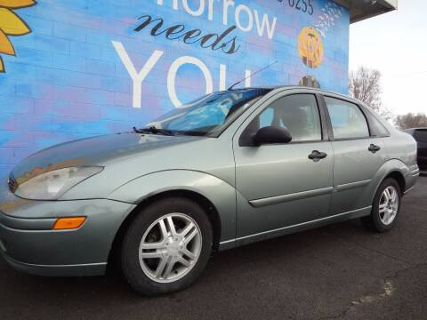 2003 Ford Focus for sale at FINISH LINE AUTO SALES in Idaho Falls ID