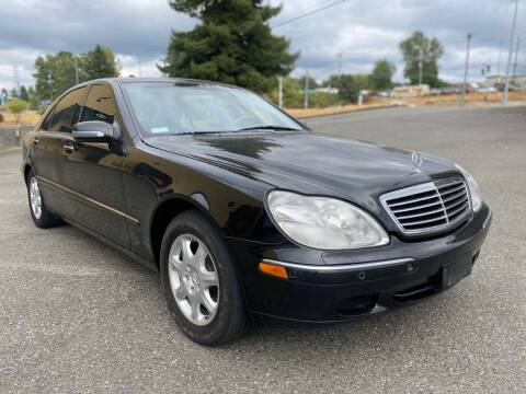 2000 Mercedes-Benz S-Class for sale at South Tacoma Motors Inc in Tacoma WA