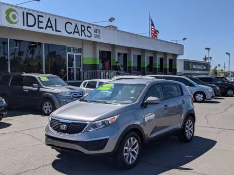 2014 Kia Sportage for sale at Ideal Cars in Mesa AZ