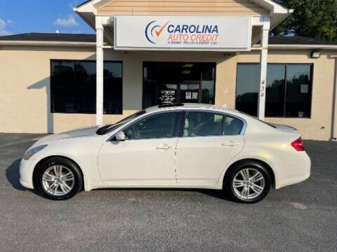 2013 Infiniti G37 Sedan for sale at Carolina Auto Credit in Youngsville NC