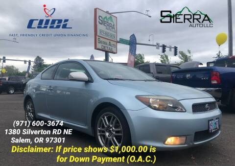 2007 Scion tC for sale at SIERRA AUTO LLC in Salem OR