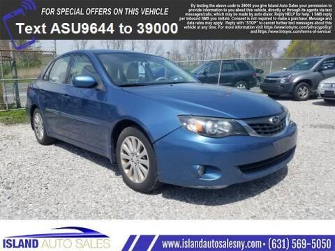 2008 Subaru Impreza for sale at Island Auto Sales in E.Patchogue NY