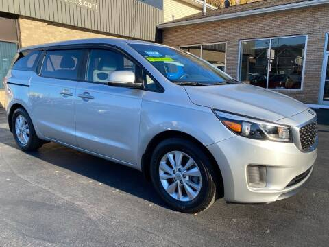 2016 Kia Sedona for sale at C Pizzano Auto Sales in Wyoming PA