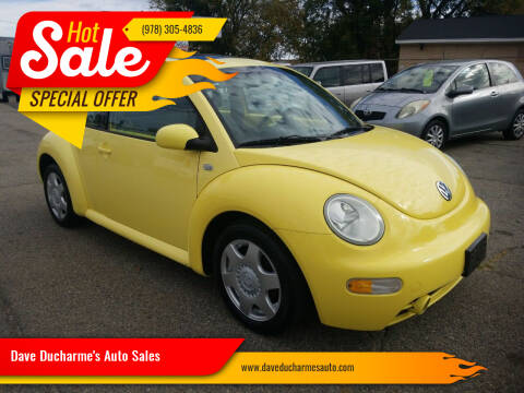 2001 Volkswagen New Beetle for sale at Dave Ducharme's Auto Sales in Lowell MA