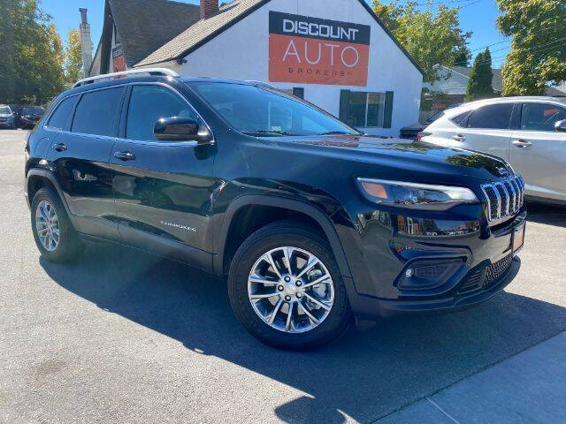 2019 Jeep Cherokee for sale at Discount Auto Brokers Inc. in Lehi UT