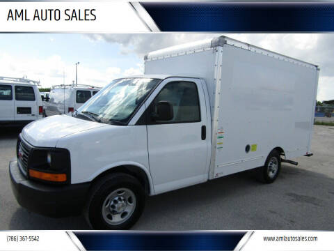 2012 GMC Savana Cutaway for sale at AML AUTO SALES - Box trucks in Opa-Locka FL