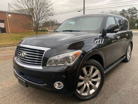 2011 Infiniti QX56 for sale at Gwinnett Luxury Motors in Buford GA