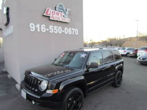2012 Jeep Patriot for sale at LIONS AUTO SALES in Sacramento CA