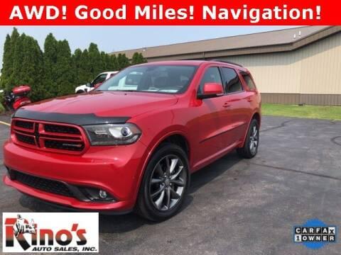2018 Dodge Durango for sale at Rino's Auto Sales in Celina OH
