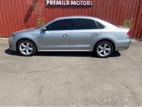 2012 Volkswagen Passat for sale at PREMIERMOTORS  INC. in Milton Freewater OR