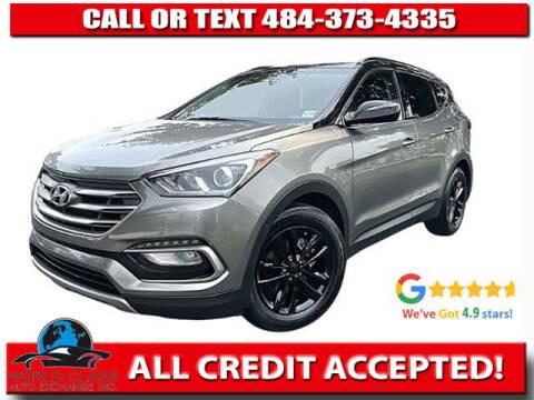 2018 Hyundai Santa Fe Sport for sale at World Class Auto Exchange in Lansdowne PA
