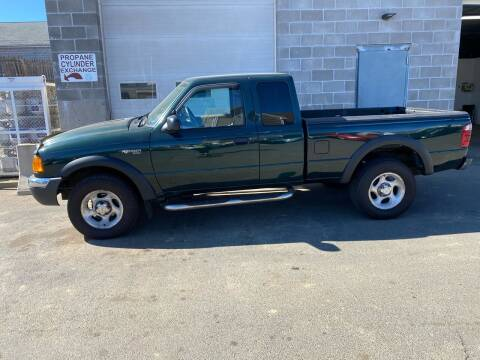 2002 Ford Ranger for sale at Pafumi Auto Sales in Indian Orchard MA