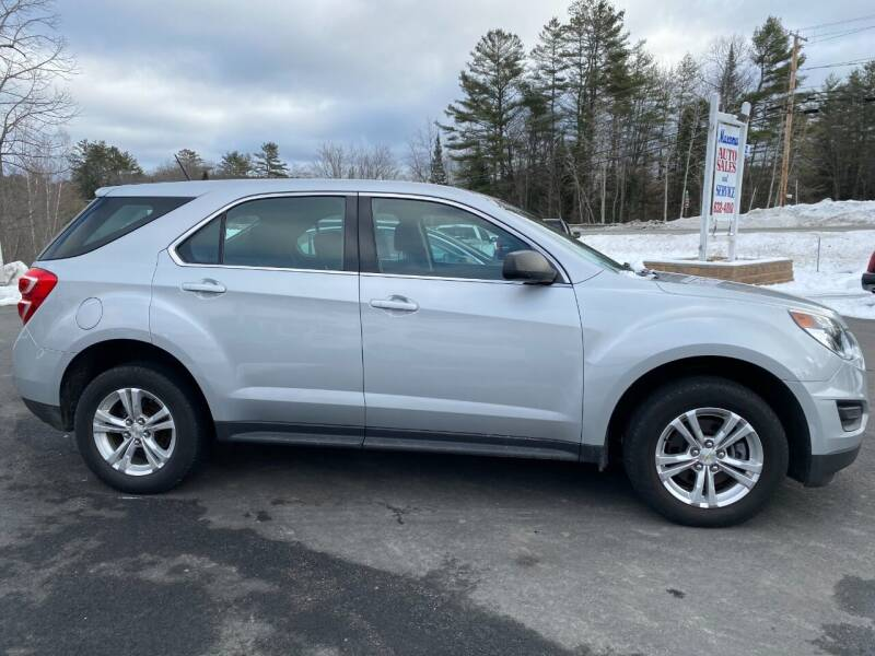 2016 Chevrolet Equinox for sale at Mascoma Auto INC in Canaan NH