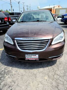 2013 Chrysler 200 for sale at Chicago Auto Exchange in South Chicago Heights IL