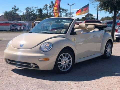 2005 Volkswagen New Beetle Convertible for sale at Pro Cars Of Sarasota Inc in Sarasota FL
