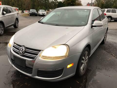 2006 Volkswagen Jetta for sale at Atlantic Auto Sales in Garner NC