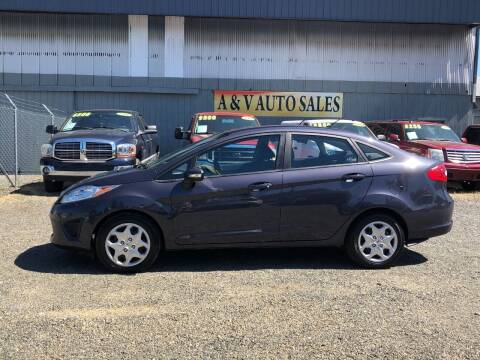 2013 Ford Fiesta for sale at A & V AUTO SALES LLC in Marysville WA