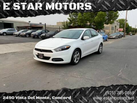 2015 Dodge Dart for sale at E STAR MOTORS in Concord CA