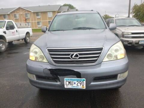 2003 Lexus GX 470 for sale at JIM WOESTE AUTO SALES & SVC in Long Prairie MN