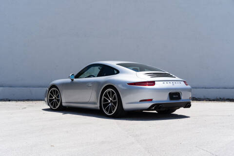 2014 Porsche 911 for sale at ZWECK in Miami FL