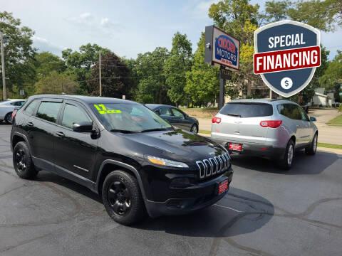 2017 Jeep Cherokee for sale at Crocker Motors in Beloit WI