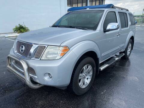 2009 Nissan Pathfinder for sale at PJ AUTO WHOLESALE in Miami FL