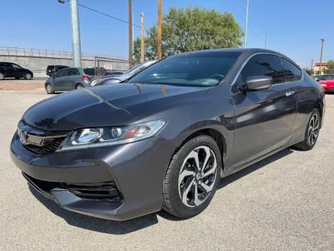 2016 Honda Accord for sale at Eastside Auto Sales in El Paso TX
