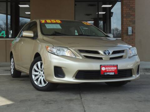 2012 Toyota Corolla for sale at Arandas Auto Sales in Milwaukee WI