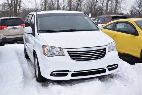 2016 Chrysler Town and Country for sale at BOB ROHRMAN FORT WAYNE TOYOTA in Fort Wayne IN