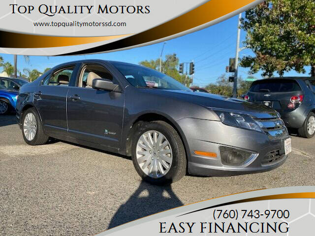 2012 Ford Fusion Hybrid for sale at Top Quality Motors in Escondido CA