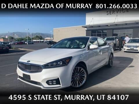 2017 Kia Cadenza for sale at D DAHLE MAZDA OF MURRAY in Salt Lake City UT