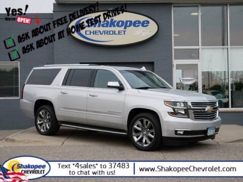 2015 Chevrolet Suburban for sale at SHAKOPEE CHEVROLET in Shakopee MN