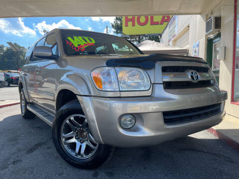 2005 Toyota Sequoia for sale at Automan Auto Sales, LLC in Norcross GA