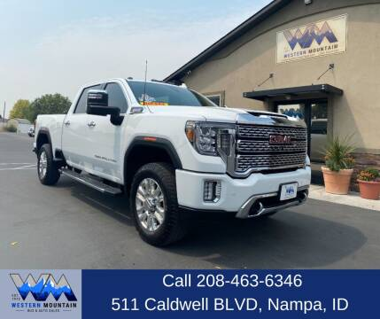 2020 GMC Sierra 3500HD for sale at Western Mountain Bus & Auto Sales in Nampa ID