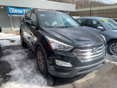 2013 Hyundai Santa Fe Sport for sale at B & P Motors LTD in Glenshaw PA