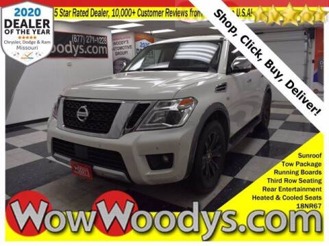 2018 Nissan Armada for sale at WOODY'S AUTOMOTIVE GROUP in Chillicothe MO