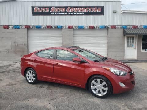 2012 Hyundai Elantra for sale at Elite Auto Connection in Conover NC