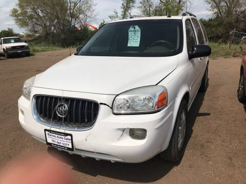 2006 Buick Terraza for sale at BARNES AUTO SALES in Mandan ND