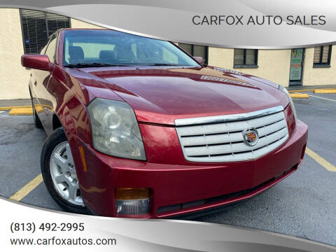 2007 Cadillac CTS for sale at Carfox Auto Sales in Tampa FL