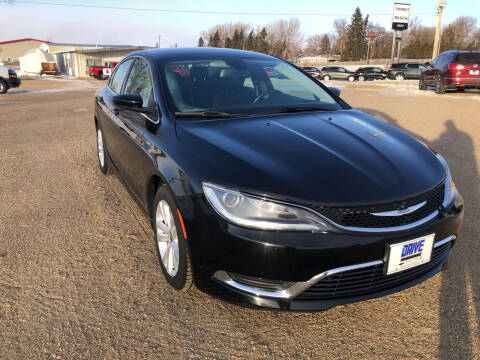2016 Chrysler 200 for sale at Drive Chevrolet Buick Rugby in Rugby ND