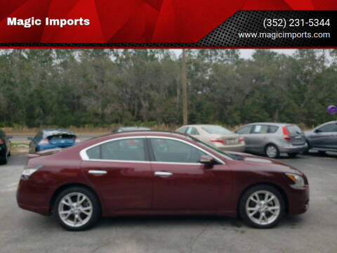 2013 Nissan Maxima for sale at Magic Imports in Melrose FL