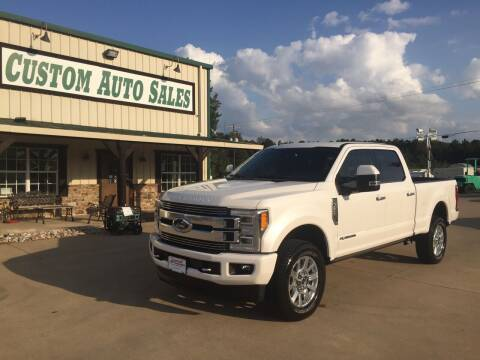 2019 Ford F-250 Super Duty for sale at Custom Auto Sales - AUTOS in Longview TX