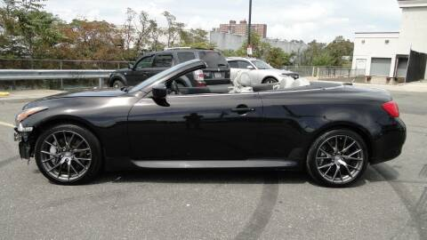 2013 Infiniti G37 Convertible for sale at AFFORDABLE MOTORS OF BROOKLYN in Brooklyn NY