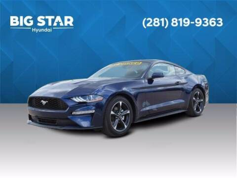 2020 Ford Mustang for sale at BIG STAR HYUNDAI in Houston TX